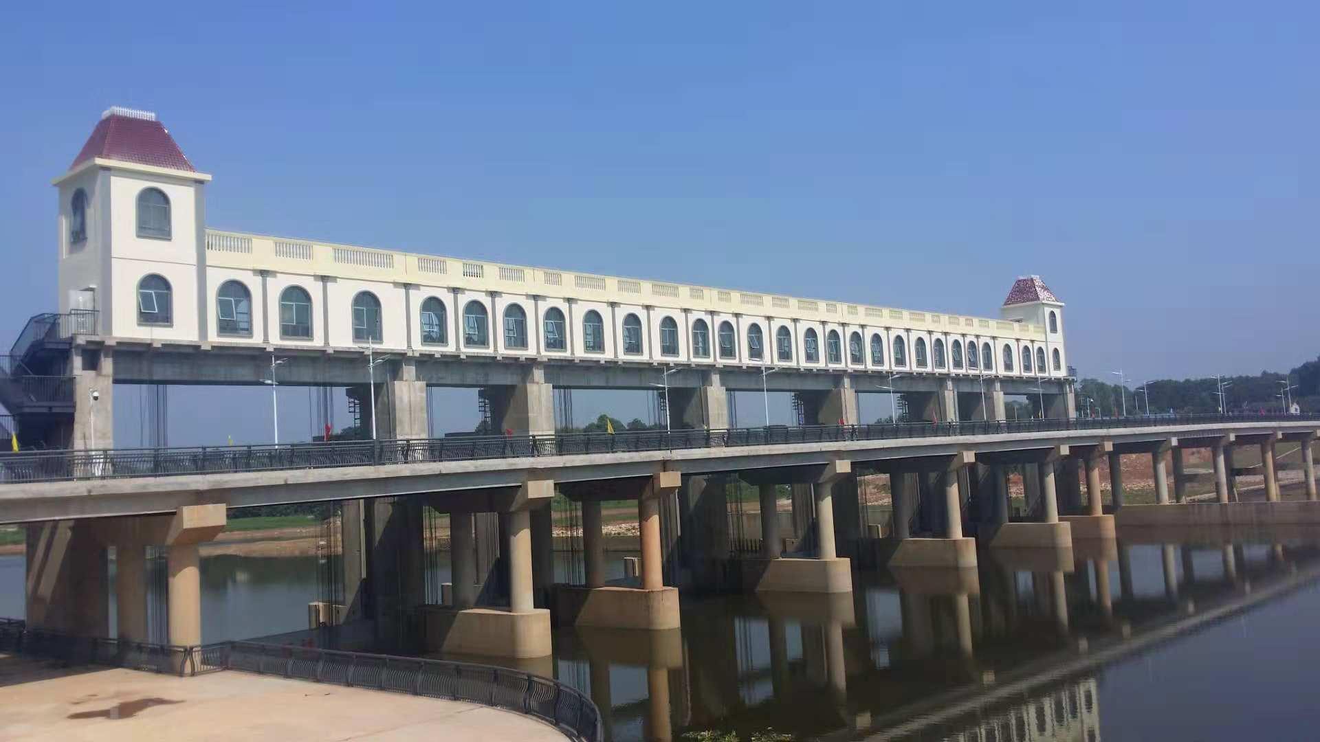 湖南长沙水渡河河坝改造工程