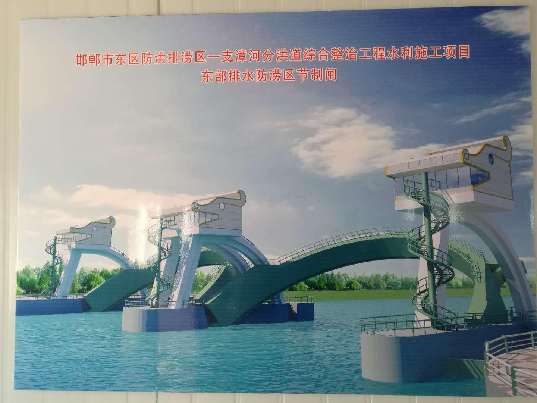 邯郸市东区防洪排涝一支漳河分洪道综合整治工程